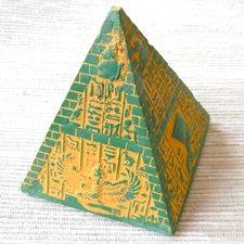 Soška - Pyramída zelená