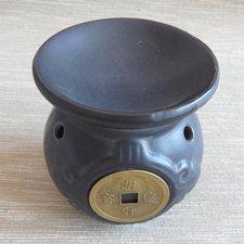 Aromalampa - čínska minca čierna