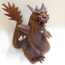 Drevený drak 30cm