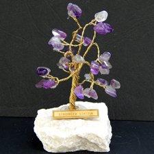 Stromček šťastia - Ametyst/ mini