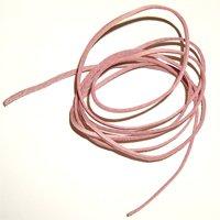Kožený remienok - Ružový