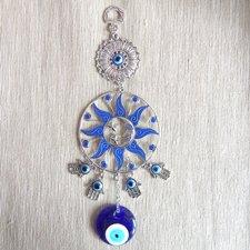 Závesná dekorácia - Slnko,Mesiac,Horovo oko