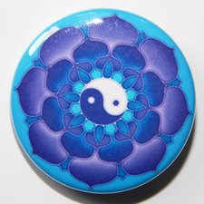 Odznak - Mandala tretieho oka