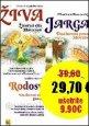 Živa, Jarga, Rodosvit /KOMPLET 3 knihy