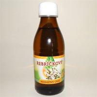 Masážny olej - Rebríčkový 0,2 l